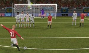 Free kick Football games