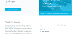 google android course udacity