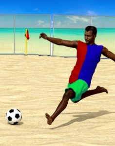 Soccer at Beach