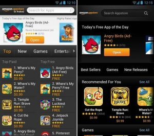 Amazon store for android