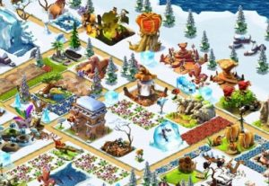 Ice age village game