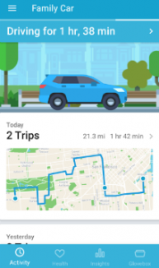 Track your car from anywhere