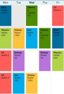 Timetable app is a good way of managing your time by allotting period for daily routine tasks including studies.