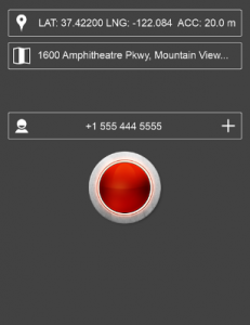 You just need to add several different contacts into the red panic button app, which you want to communicate into emergency.