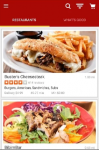 Yelp Eat24 Android app