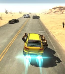 Zombie car game