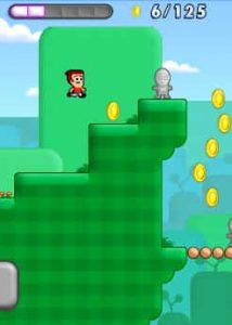 collect coins and run in the game