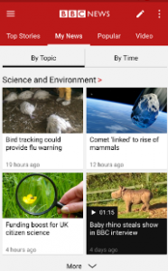 Top Stories News reader Apps
