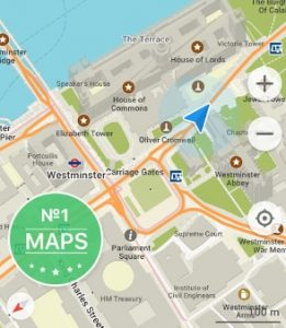 GPS navigation application android