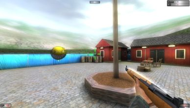 A full of thrill and adrenaline rushing third person shooter game.