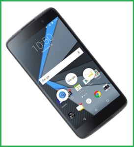 BlackBerry DTEK50 for security
