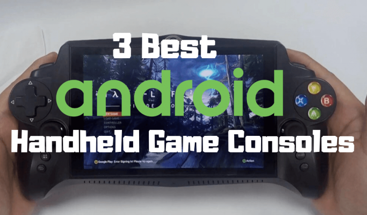 3 best Android Handheld gaming consoles JXD Nvidia Shield GPD G5A