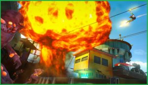 The game is about a city name sunset got hit by some mutants that really want to kill or eat anyone come in their way.