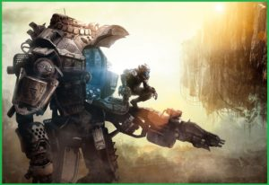 Titanfall is a multiplayer Xbox one game that seems like a peep in future warfare.