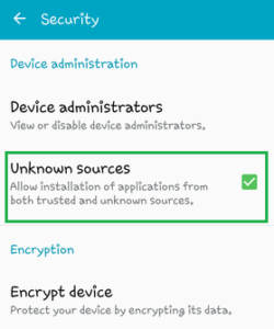 From security go to Unknown Source option and enable it.