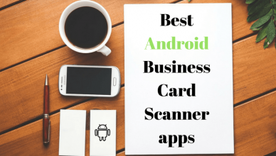 Best business card scanner app android