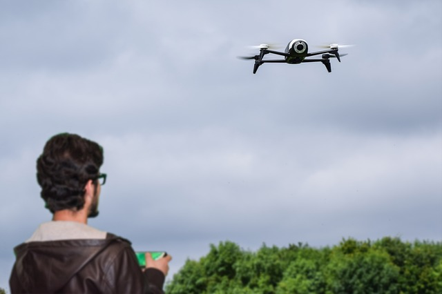 How to fly a drone camera