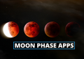 Moon phase apps and moon calendar apps