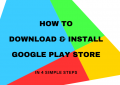 How to download & install the Google Play Store blog post thumbnail